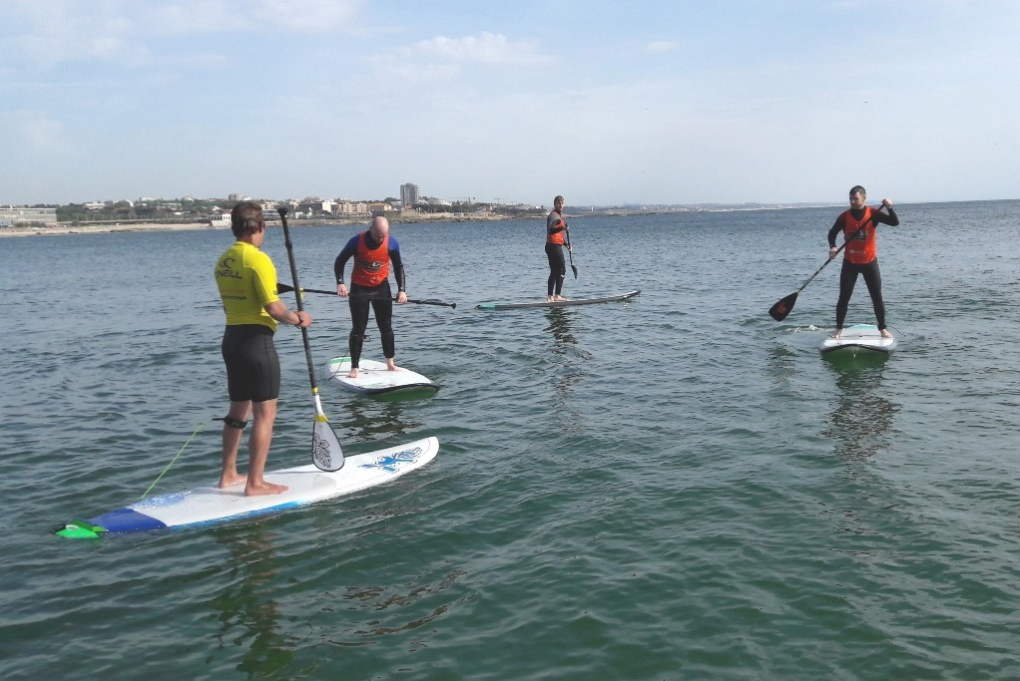 Surfaventura Stand-up-Paddle group lessons