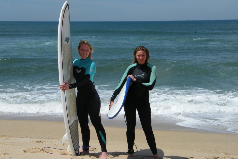 Surfaventura Surfcamp surf lesson girls